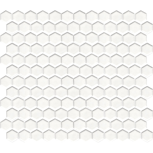 Hexagon Mosaic White Gloss