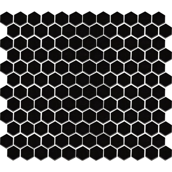 Hexagon Mosaic Black Gloss