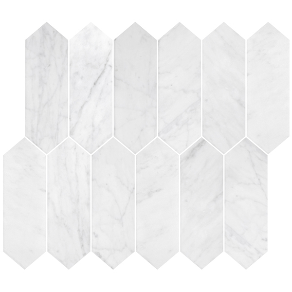 Stone Polygon Italian Carrara Honed