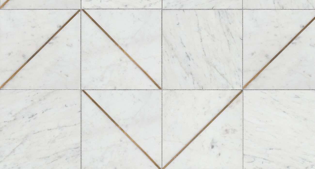Product Marble Tiles Inlay : Brass stone