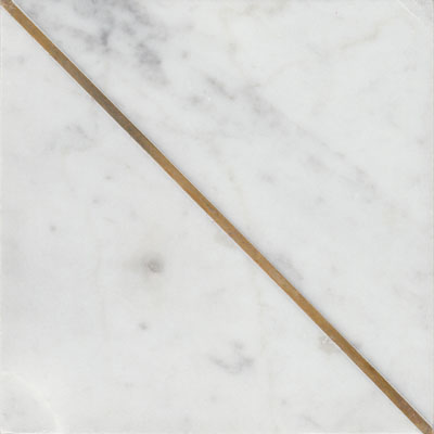 Brass + Stone Carrara C Mix Honed